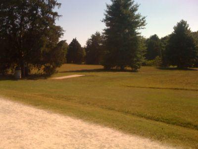 Kereiakes Park, Main course, Hole 16 Tee pad