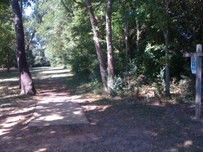 Kereiakes Park, Main course, Hole 15 Tee pad