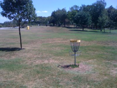 Lovers Lane Park, Main course, Hole 1 Reverse (back up the fairway)