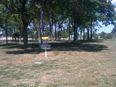 Lovers Lane Park, Main course, Hole 11 Reverse (back up the fairway)