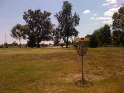 Lovers Lane Park, Main course, Hole 12 Reverse (back up the fairway)
