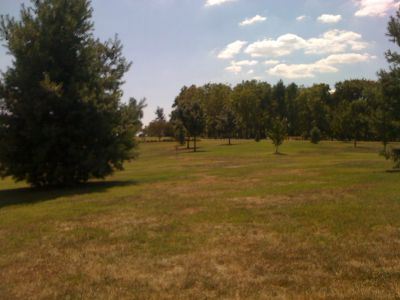 Lovers Lane Park, Main course, Hole 14 Midrange approach