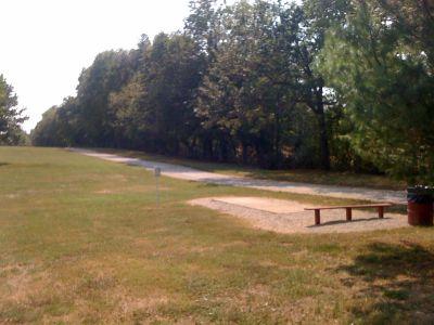 White Park, Main course, Hole 2 Tee pad