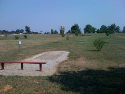 White Park, Main course, Hole 4 Tee pad