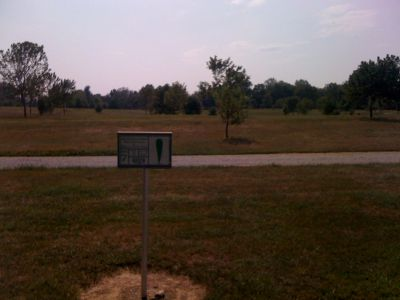 White Park, Main course, Hole 7 Hole sign