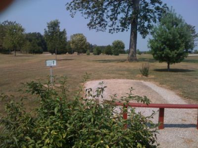 White Park, Main course, Hole 13 Tee pad