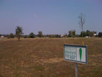 White Park, Main course, Hole 15 Hole sign