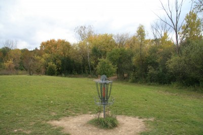 Bandemer Park, Bandemer, Hole 7 Reverse (back up the fairway)