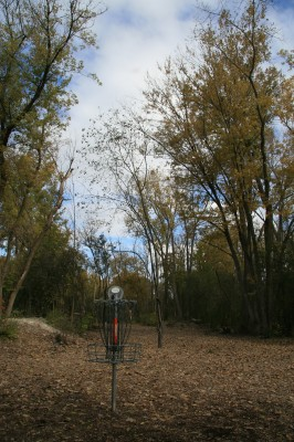 Bandemer Park, Bandemer, Hole 3 Reverse (back up the fairway)