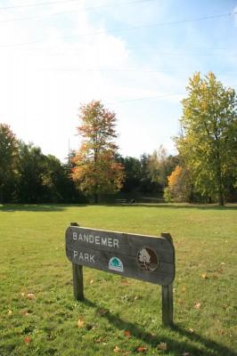 Bandemer Park, Bandemer, Hole 1 Alternate pin (reverse)