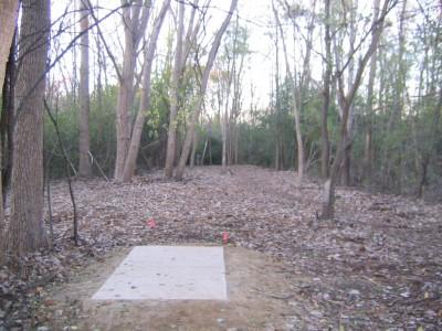 Bandemer Park, Bandemer, Hole 6 Short tee pad