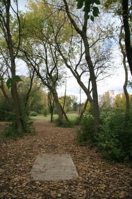 Bandemer Park, Bandemer, Hole 7 Short tee pad