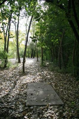 Bandemer Park, Bandemer, Hole 1 Short tee pad