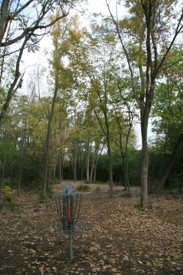 Bandemer Park, Bandemer, Hole 6 Reverse (back up the fairway)