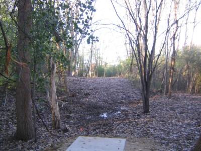 Bandemer Park, Bandemer, Hole 9 Short tee pad