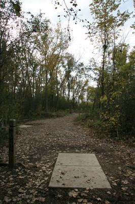 Bandemer Park, Bandemer, Hole 3 Long tee pad