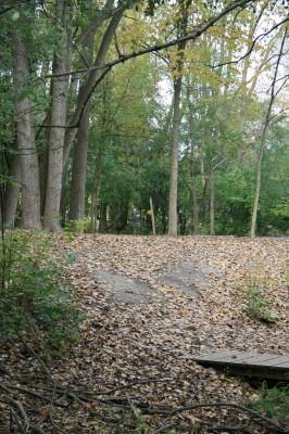 Bandemer Park, Bandemer, Hole 9 Midrange approach