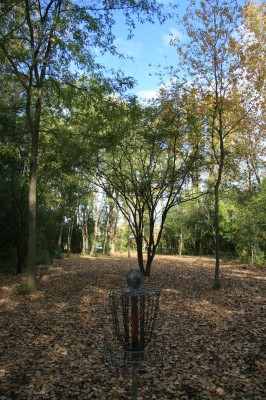Bandemer Park, Bandemer, Hole 1 Reverse (back up the fairway)
