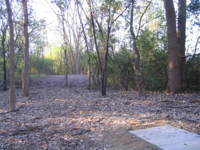 Bandemer Park, Bandemer, Hole 9 Long tee pad