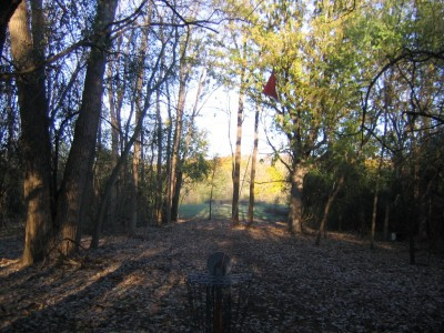 Bandemer Park, Bandemer, Hole 8 Reverse (back up the fairway)
