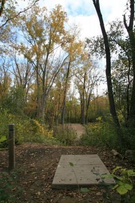 Bandemer Park, Bandemer, Hole 4 Long tee pad