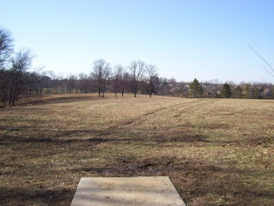 Boone Woods Park, Main course, Hole 5 Tee pad