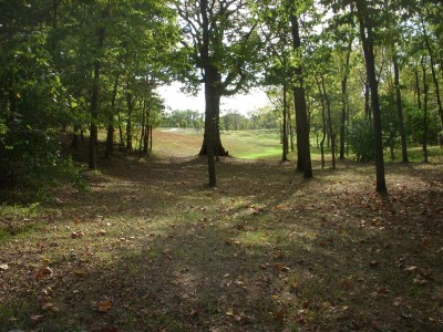 Idlewild, Main course, Hole 3 Reverse (back up the fairway)