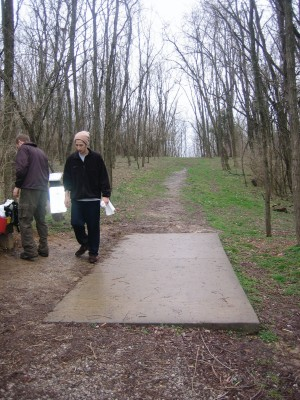 Idlewild, Main course, Hole 18 Tee pad