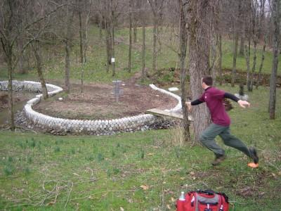 Idlewild, Main course, Hole 17 Short approach