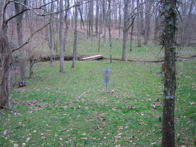Idlewild, Main course, Hole 14 Reverse (back up the fairway)