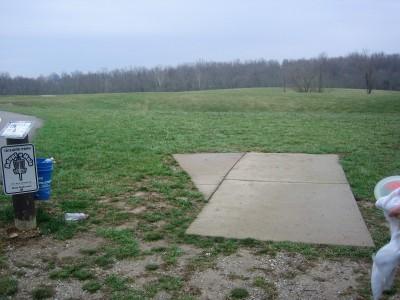 Idlewild, Main course, Hole 16 Long tee pad