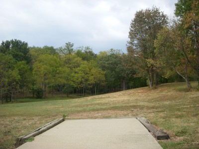 Idlewild, Main course, Hole 3 Short tee pad