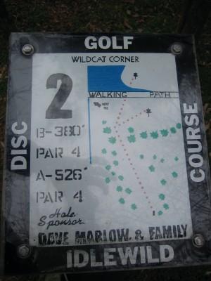 Idlewild, Main course, Hole 2