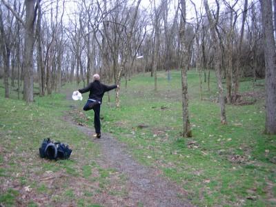Idlewild, Main course, Hole 8 Midrange approach