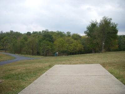 Idlewild, Main course, Hole 3 Long tee pad