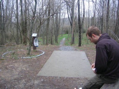 Idlewild, Main course, Hole 7 Tee pad