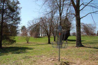 Freeman Lake Park, Main course, Hole 10 Reverse (back up the fairway)
