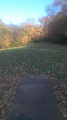 East Frankfort Park, Main course, Hole 7 Tee pad