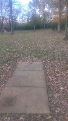 East Frankfort Park, Main course, Hole 12 Tee pad