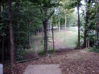 Banklick Woods Park, Main course, Hole 4 Tee pad