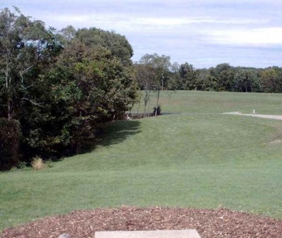 Banklick Woods Park, Main course, Hole 2 Tee pad