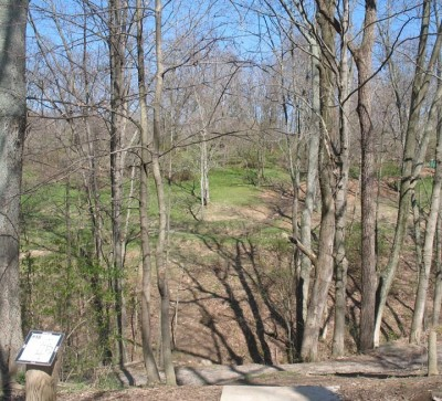Banklick Woods Park, Main course, Hole 18 Tee pad