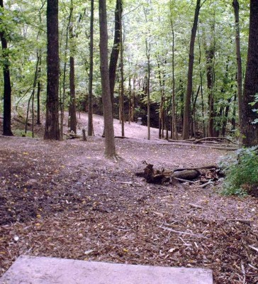 Banklick Woods Park, Main course, Hole 7 Tee pad