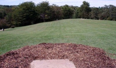 Banklick Woods Park, Main course, Hole 12 Tee pad