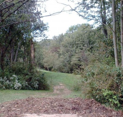 Banklick Woods Park, Main course, Hole 10 Long tee pad
