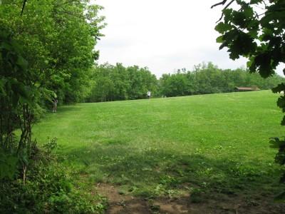 Veterans Park, Main course, Hole 2 Tee pad