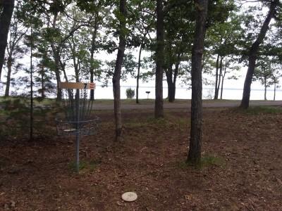 Castle Rock Park, Main course, Hole 7 Alternate pin