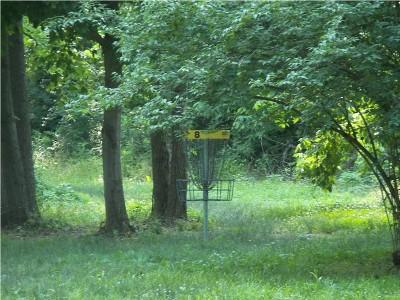Paducah DGC @ Stuart Nelson Park, Main course, Hole 8 Putt