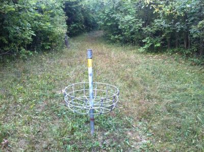 Pioneer High School, Pioneer DGC, Hole 6 Reverse (back up the fairway)