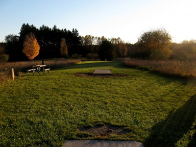 Hudson Mills Metropark, Original course, Hole C Long tee pad